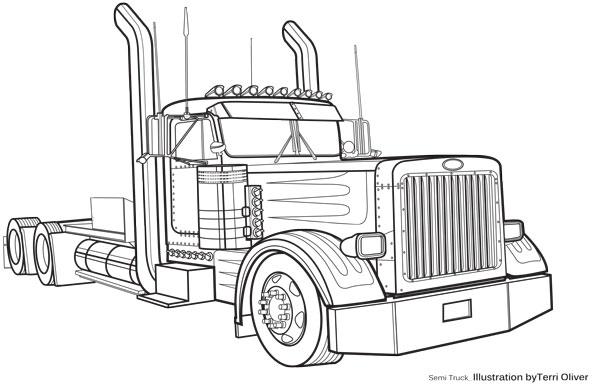 Technical Drawing Semi - terrioliverdesign.com